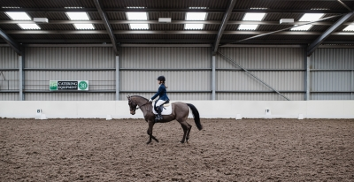 Libby taking part in the Trailblazers Qualifier